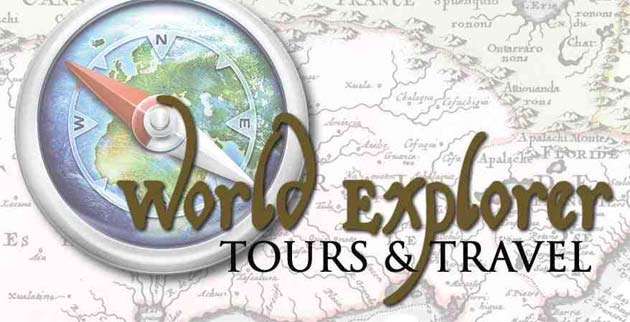 For tours to other destinations visit www.worldexplorertours.com